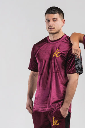 VELOUR LC LOGO SHIRT - MEN