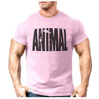 ANIMAL Print Muscle T-Shirt