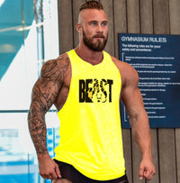 BEAST Bodybuilding Men Tank Top