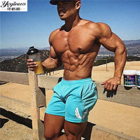 Fashion Brand Men Gyms Shorts Fitness Summer