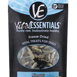 Vital Essentials Dog Treat FD Minnows