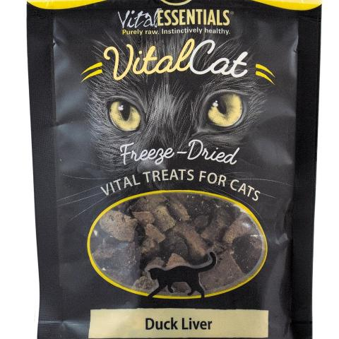 Vital Essentials Cat Treats FD Duck LiVital Essentials