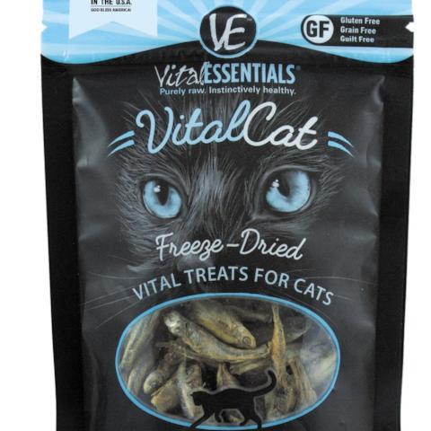 Vital Essentials Cat Treat FD Minnows