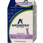 Answer's Frozen Detailed Turkey 1# Carton