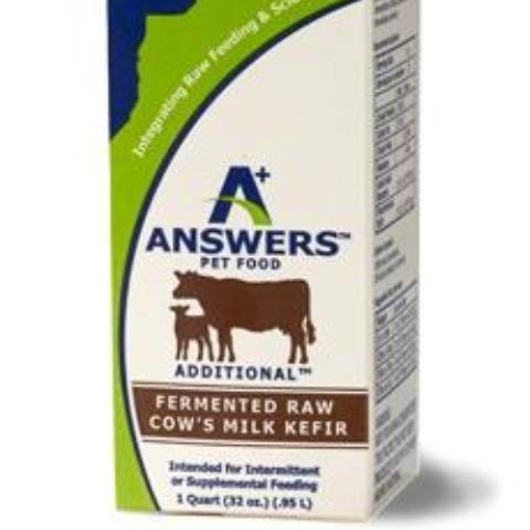 Answers Raw Cows Milk Kefir