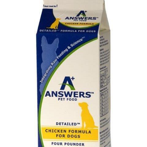 Answer's Frozen Detailed Chicken 4# Carton
