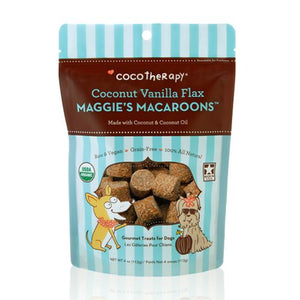 CocoTherapy Maggie's Macaroons Vanilla Flax