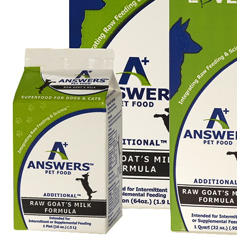 Answers's Frozen Additional Goat's Milk