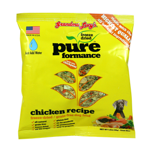 Grandma Lucy's Dog Food Pureformance GF Chicken & Chickpeas