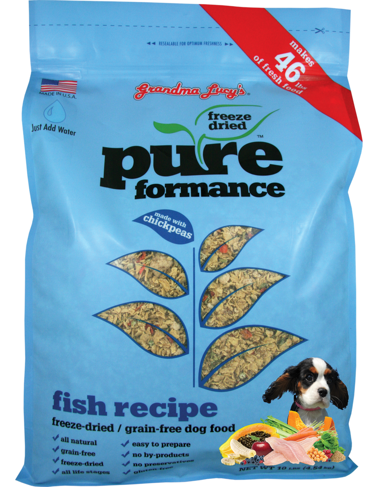 Grandma Lucy's Dog Food Pureformance GF Fish & Chickpea