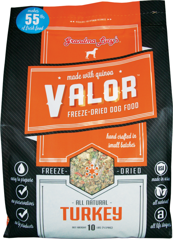Grandma Lucy's Dog Food Valor Turkey & Quinoa Gluten Free