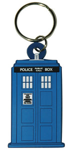 Doctor Who - Tardis Rubber Keychain - Gloriously Geek