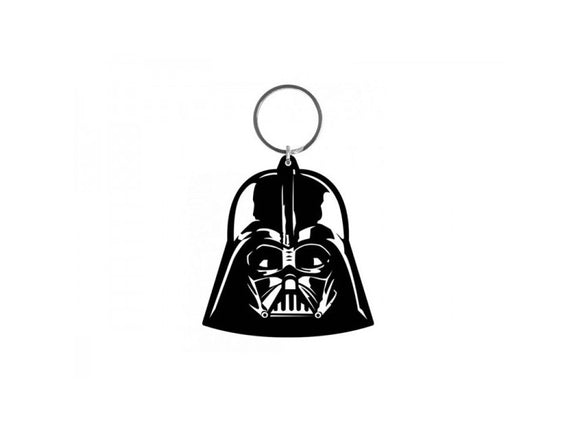 Star Wars - Darth Vader Rubber Keychain - Gloriously Geek