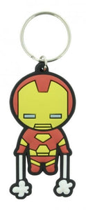 Marvel Comics - Kawaii Iron Man Rubber Keychain - Gloriously Geek