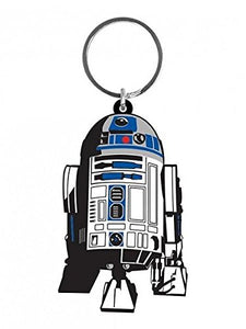 Star Wars -R2-D2 Rubber Keychain - Gloriously Geek