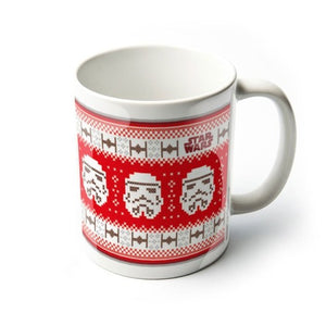 Mug - Star Wars - Stormtrooper Christmas Jumper - Gloriously Geek
