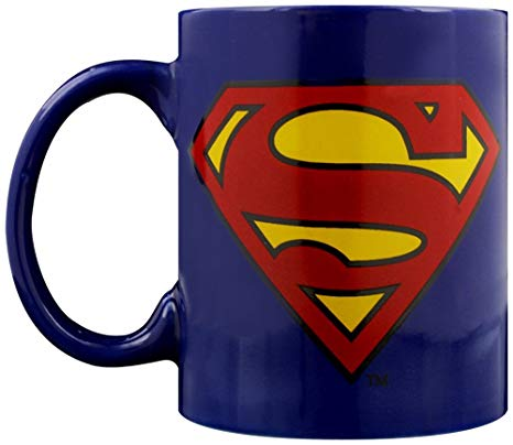DC Comics - Superman Logo Mug - Gloriously Geek