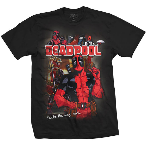 T-Shirt - Marvel Comics - Deadpool - S/M/L/XL - Gloriously Geek