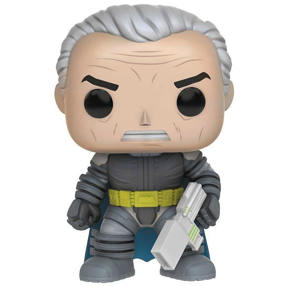 Funko - Batman The Dark Knight Returns Pop! Vinyl - Armored Batman (unmasked) #113 - Gloriously Geek