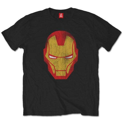 Marvel Comics -  Iron Man (Distressed) - S/M/L/XL/XXL T-Shirt - Gloriously Geek