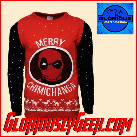Apparel - Marvel - Deadpool Christmas Jumper