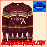 Apparel - Capcom - Street Fighter Christmas Jumper
