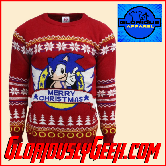 Apparel - Sega - Sonic the Hedgehog Christmas Jumper