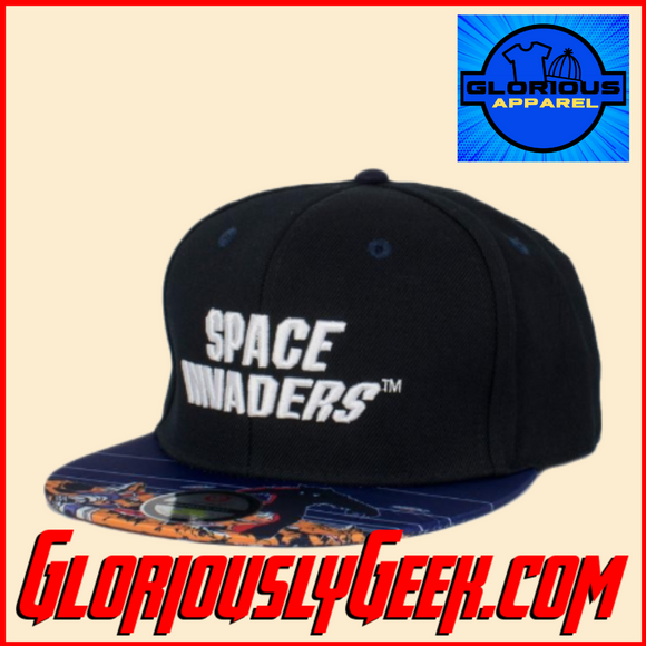 Apparel - Hat - Taito - Space Invaders Snapback