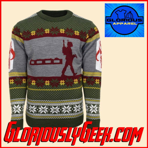 Apparel - Star Wars - Boba Fett Christmas Jumper