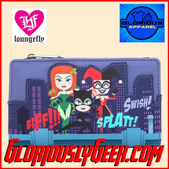 Apparel - Wallet - Loungefly - DC Comics - Gotham City Sirens