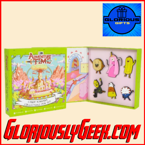 Gifts - Pins - Adventure Time - Candy Kingdom Pin Badge Set