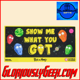Home - Rick and Morty - Show Me What You Got Rubber Doormat