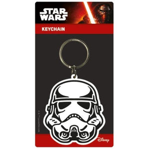 Star Wars - Storm Trooper Rubber Keychain - Gloriously Geek