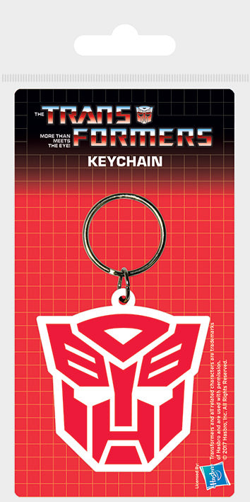 Transformers - Autobot Rubber Keychain - Gloriously Geek