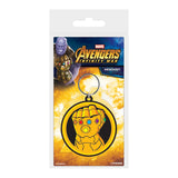 Marvel Comics - Infinity Gauntlet Rubber Keychain - Gloriously Geek