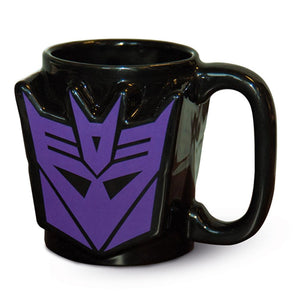 Mug - Transformers - Decepticon Shaped Mug - Gloriously Geek