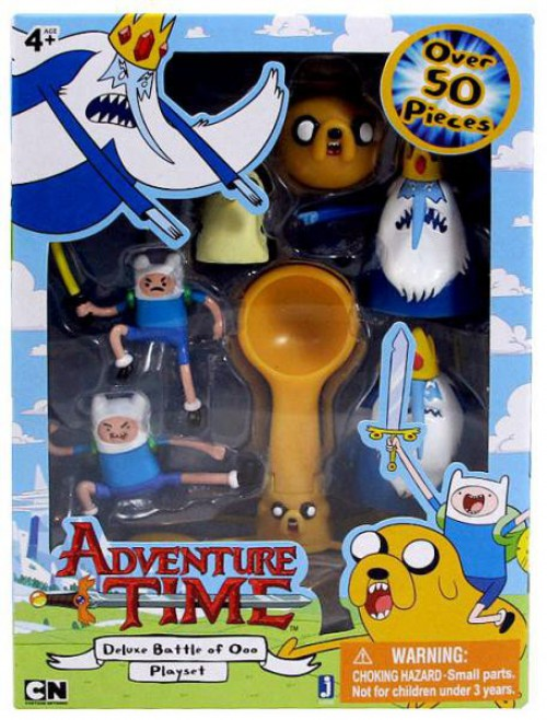 Pre- Loved - Adventure Time - Deluxe Battle of Ooo Playset - Gloriously Geek
