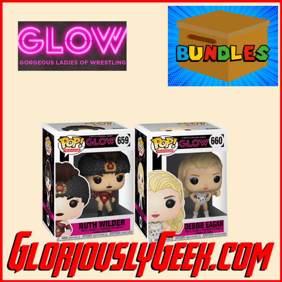 Funko - TV Pop! Vinyl - GLOW Bundle