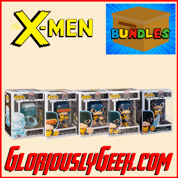 Funko - Marvel Pop! Vinyl - X-Men Bundle