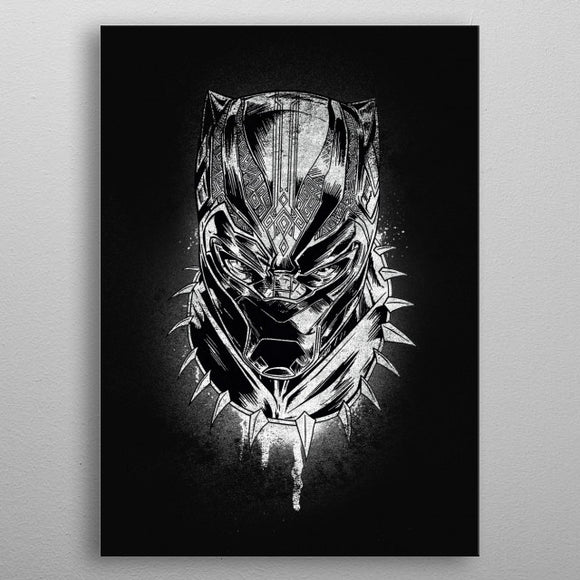 Displate 32 x 45 - Marvel Comics Panther's Rage - Gloriously Geek