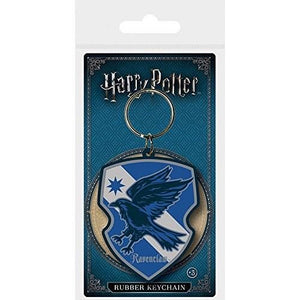 Harry Potter - Ravenclaw Rubber Keychain - Gloriously Geek