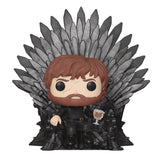 Funko - Game of Thrones Deluxe Pop! Vinyl - Tyrion on the Iron Throne - Gloriously Geek