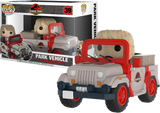 Funko - Pop! Rides - Jurassic Park - Park Vehicle #39 - Gloriously Geek