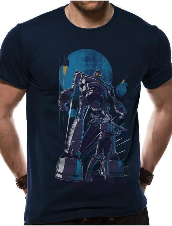 T-Shirt - Ready Player One - Iron Giant - Medium - Gloriously Geek