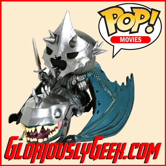 Funko - Pop! Rides Vinyl -  Lord of the Rings - Witch King on Fellbeast #63 - Gloriously Geek