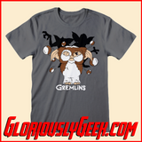 T-Shirt - Gremlins - Gizmo Fur Balls - Gloriously Geek