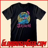 T-Shirt - Disney - Lilo and Stitch - Vintage Stitch - Gloriously Geek