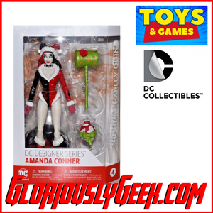 Toys - DC Collectibles - DC Designer Series - Holiday Harley Quinn