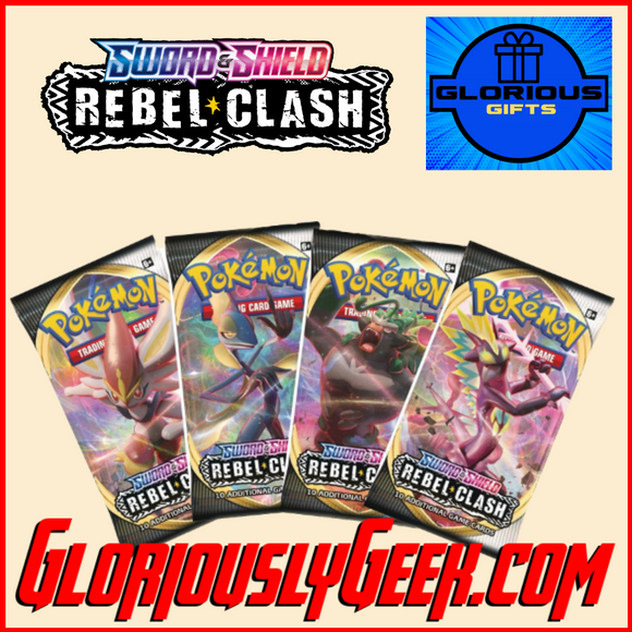 Gifts - Toys and Games - Pokemon TCG - Rebel Clash Booster Pack