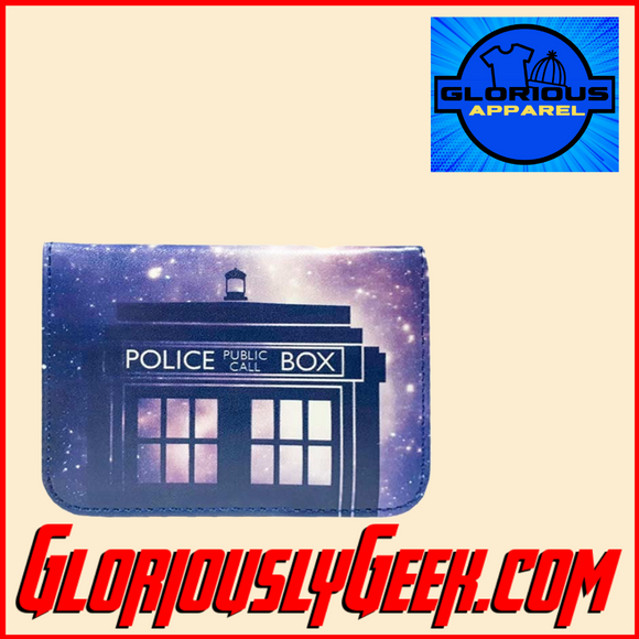 Apparel - Wallet - Doctor Who - Galaxy Card Holder
